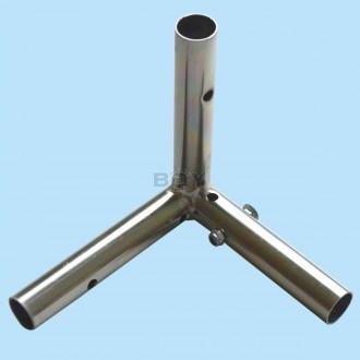 Rahmen Eck-Verbindung für Teleskopstangen zum Ausziehen