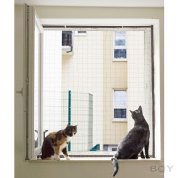 Cat Net Frame to secure your window - individual measurement