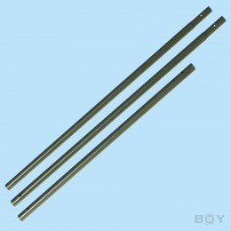 Enclosure rod - olive green - 230cm