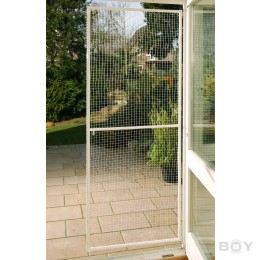 Cat-Net-Frame Door, brown - individual size