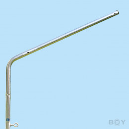 NEW - Over-climbing protection made of STAINLESS STEEL - suitable for our telescopic poles
